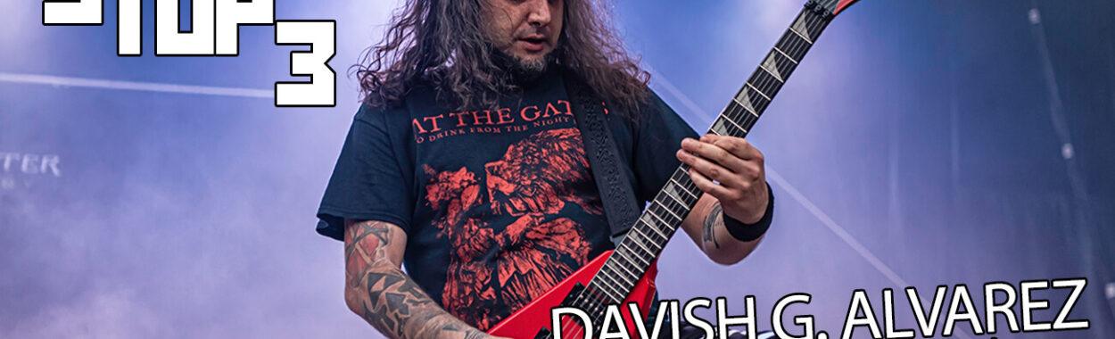 3TOP3: Davish G. Alvarez (Angelus Apatrida)