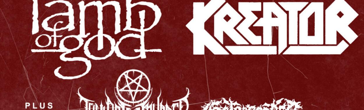 Kreator y Lamb Of God aplazan su gira europea al 2022